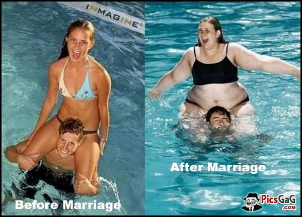 It's the End of All Stunts-15 Images That Show Striking Difference Between Single And Married Life