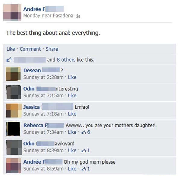 Like Mother, Like Daughter-15 Images That Show You Shouldn't Add Your Mom On Facebook