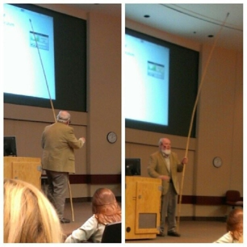 Because Using a Laser Pointer is Too Mainstream-15 Awesome Professors That Everyone Wishes To Have