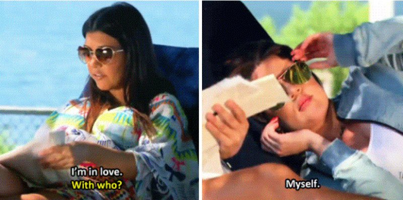 She is Sassy-15 Images That Show Kourtney Kardashian Is A Completely Hilarious Bitch