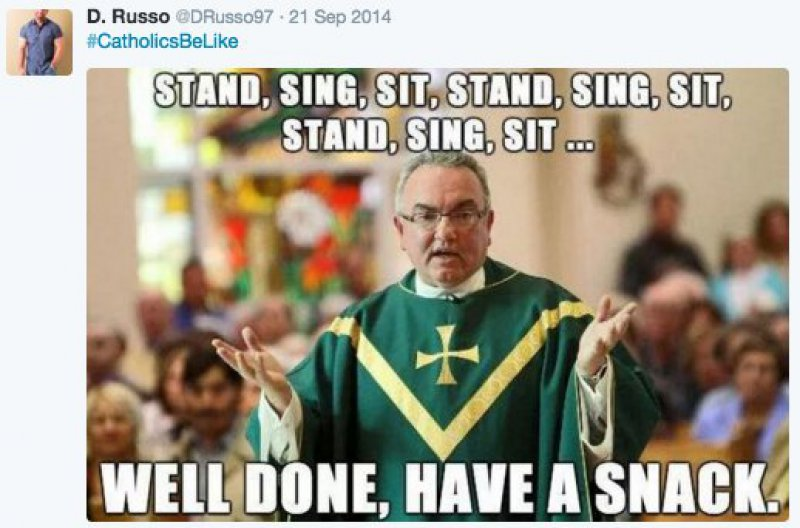 The Catholic Workout-15 Tweets Only Catholics Will Understand