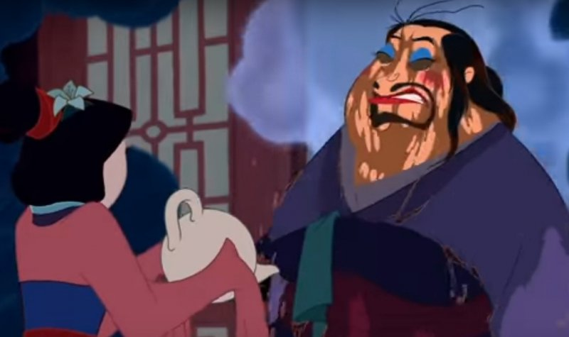 Mulan-15 Disney Movie Mistakes You Probably Never Noticed