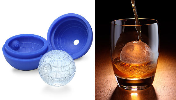 Death Star Ice Cube Mold-15 Geeky Kitchen Gadgets That Will Make Your Kitchen A Super Kitchen
