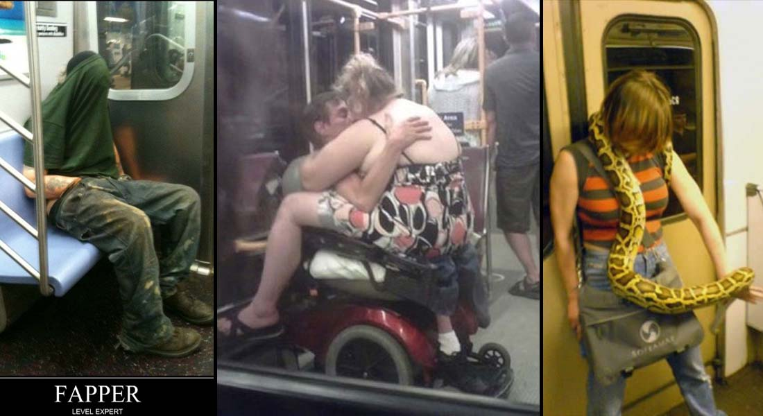 15 Most Awkward Public Transport Pictures