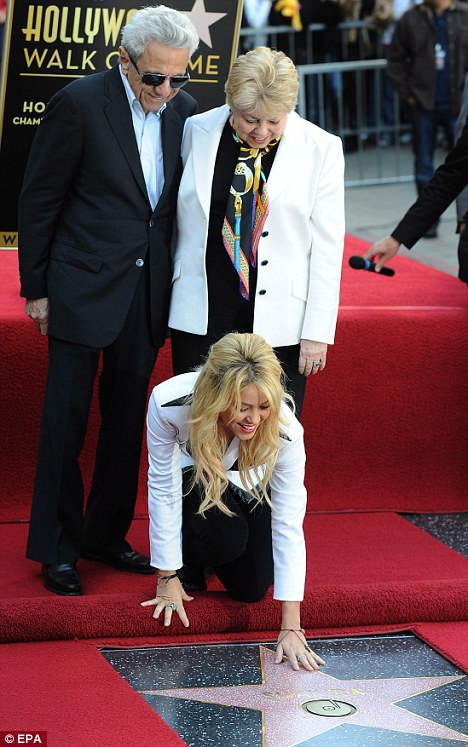 She Was Honored with a Star on Hollywood Walk of Fame-15 Things You Don't Know About Shakira