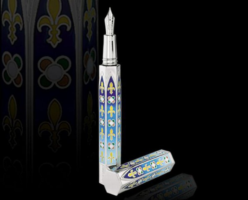 Caran d'Ache Gotica Pen - 0,453-12 Most Expensive Pens In The World