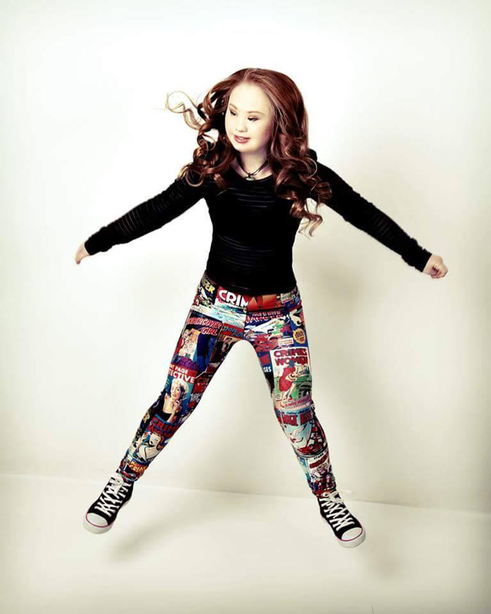 And She Started Chasing Her Dreams-Meet Madeline, A Teen Model With Down Syndrome
