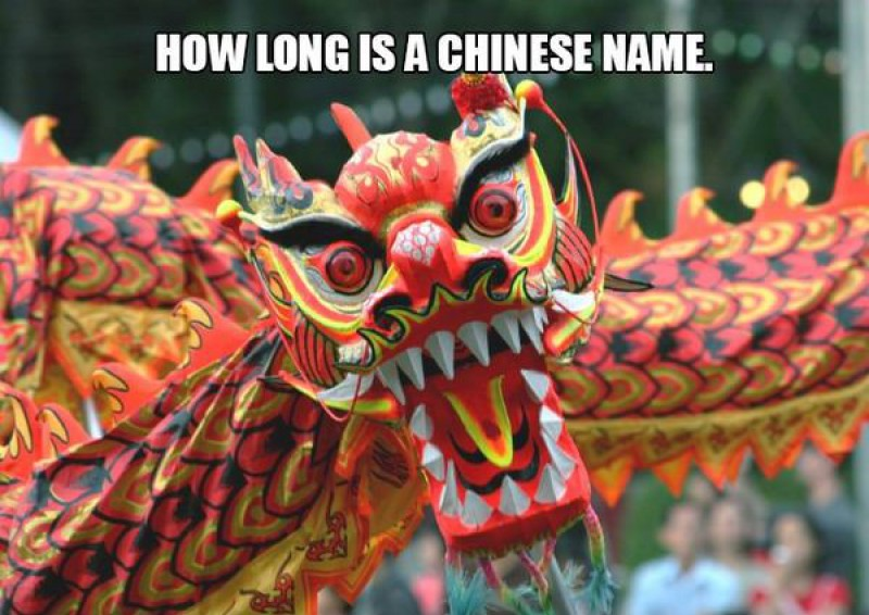 How Long is a Chinese Name-15 Terrible Jokes That Are Actually Funny