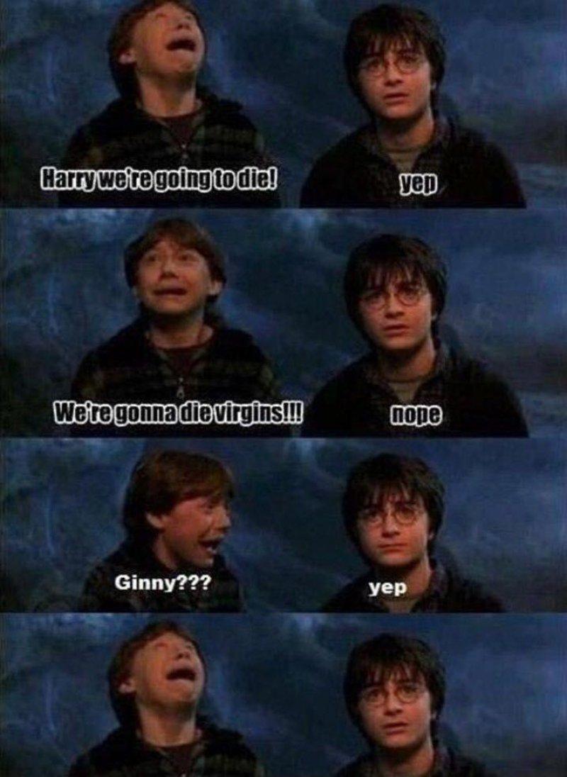 Ron's Face-15 Hilarious Harry Potter Memes Ever