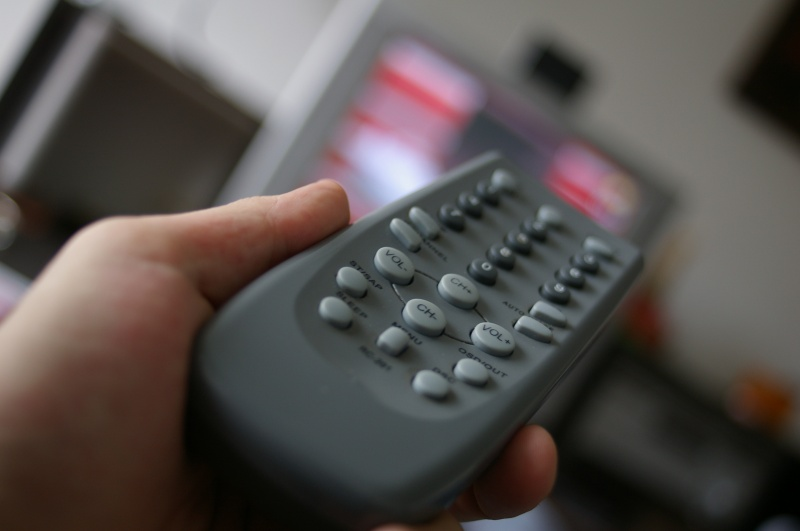TV Remote Control-15 Things You Use Daily That Are Actually Dirtier Than Your Toilet Seat