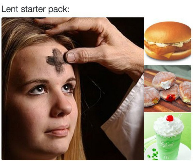 Lent Starter Pack!-15 Tweets Only Catholics Will Understand
