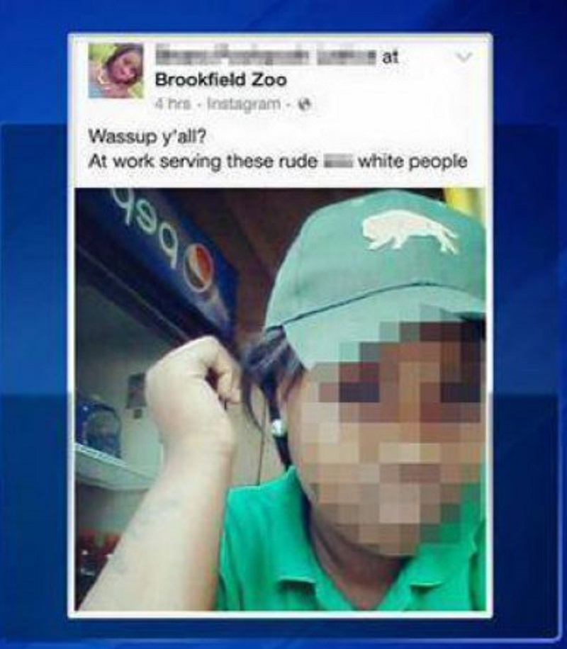 Brookfield Zoo Employee Fired Over a Racist Tweet-15 People Who Got Fired Because Of Social Media