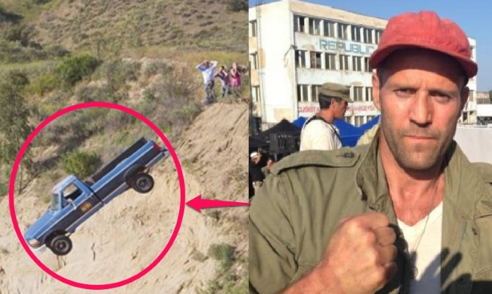 He Almost Died in a Freak Truck Accident on The Expendables 3 Sets-15 Things You Don't Know About Jason Statham