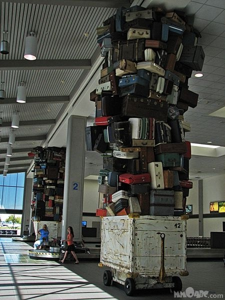 Too many bags-Reasons Why Air Travel Completely Sucks