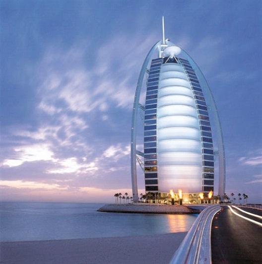 Burj Al Arab - Dubai-Most Beautiful Architectural Structures In The World