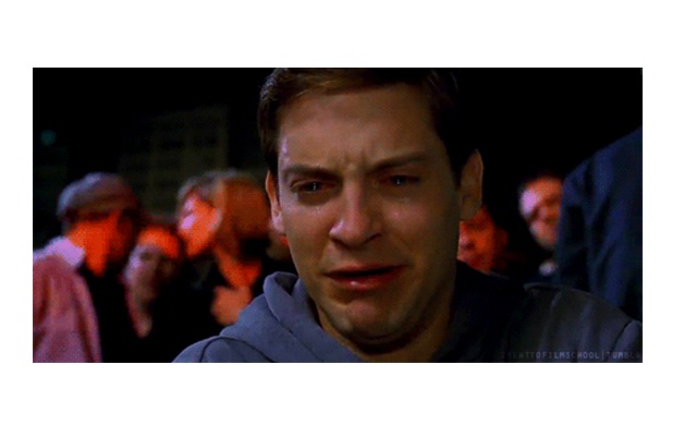 Tobey Maguire-Ugly Celeb Cry Faces