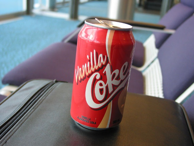 Vanilla Coke-Foods And Beverages Which Only 90s Kids Will Remember