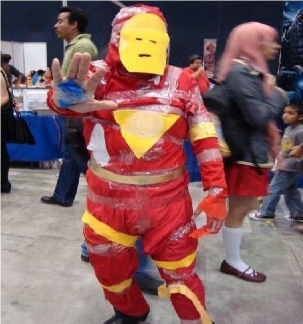 Ironman-Worst Cosplay Fails