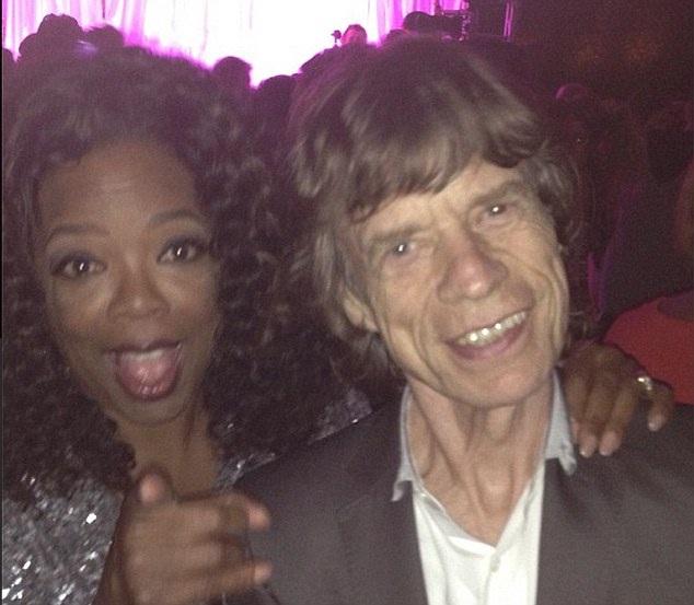 Mick Jagger-Rock Star Selfies