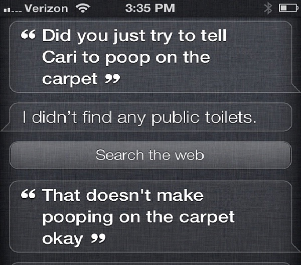 Bad Siri, Bad!-12 Funny Conversations You Can Have With Siri