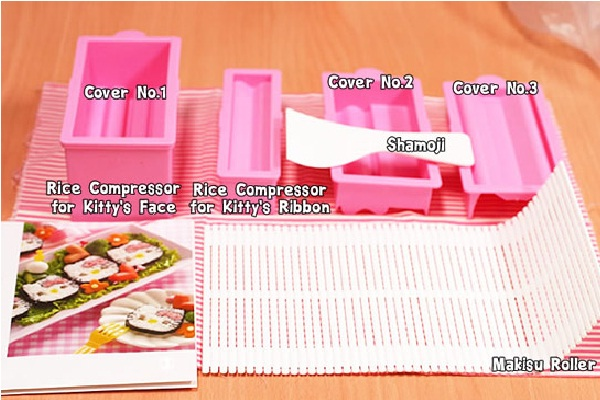 Kitty Sushi-Crazy Products Inspired By Hello Kitty