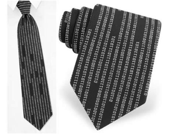 Binary code-Geekiest Ties