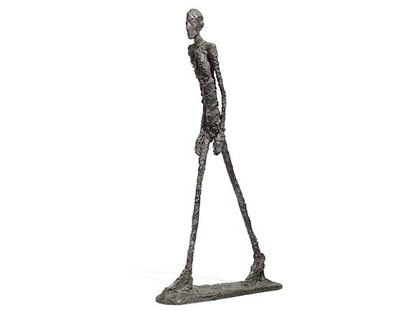 Walking Man sculpture $104 mill-Most Expensive Things In The World