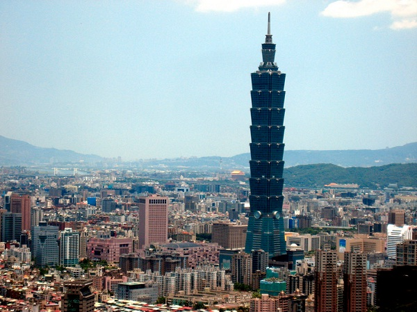 Taipei 101-Tallest Buildings In The World