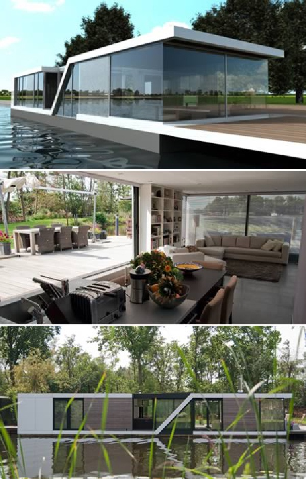 The Watervilla kortenhoef-Amazing Glass Houses