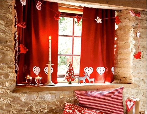 Candy striped-Christmas Decoration Ideas