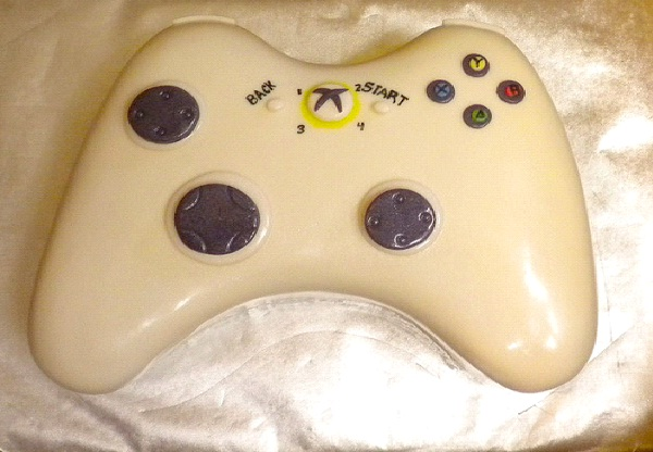 Video Game Controller-Most Geeky Cakes