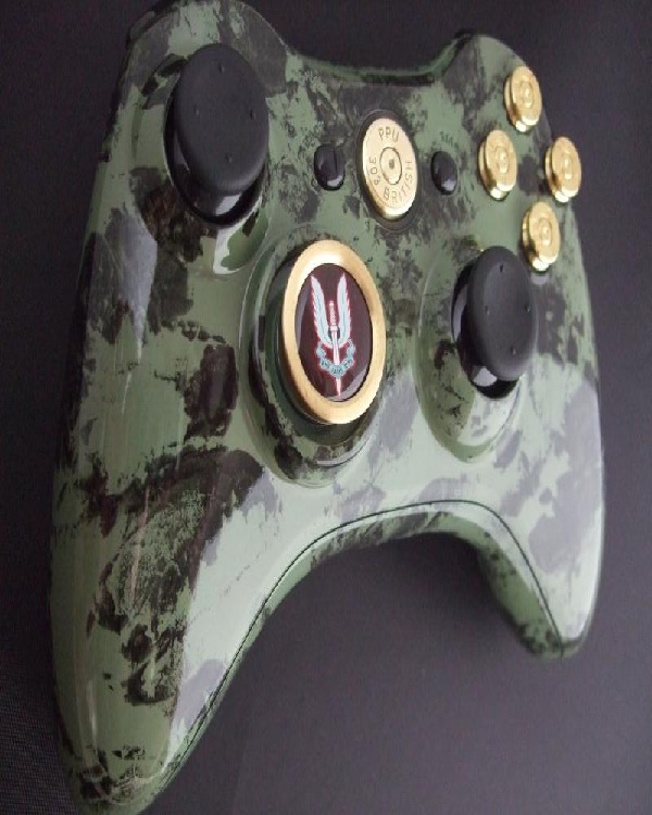 military-themed Controllers-Amazing XBox Controllers