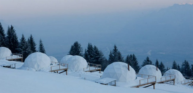 Whitepod, Switzerland-Most Amazing Hotels Around The World