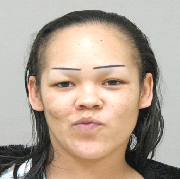 Painted On-Disgusting Eyebrows Ever