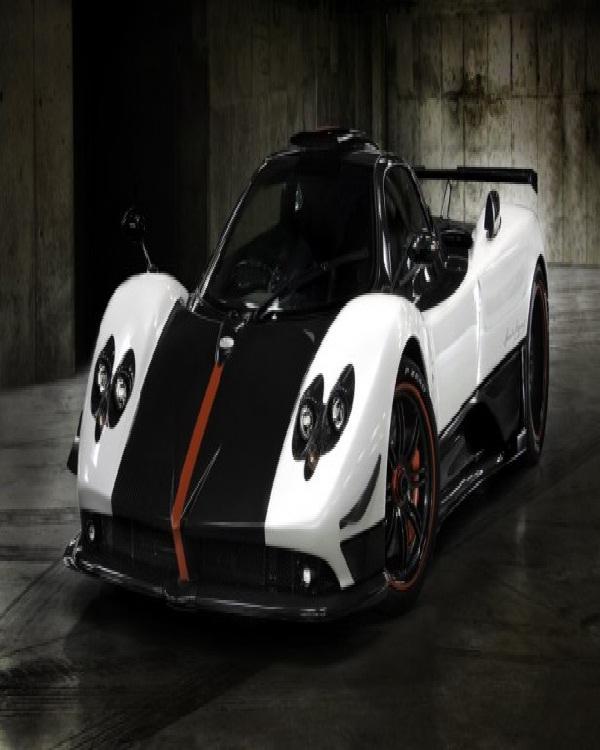 Pagani Zonda Cinque-Most Expensive Cars In The World