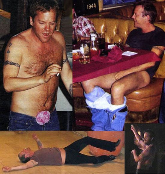Down you Go.-15 Celebrities Who Were Caught Drunk