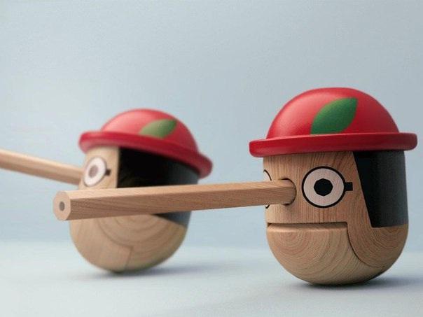 Little Pinocchio-Creative Pencil Sharpeners