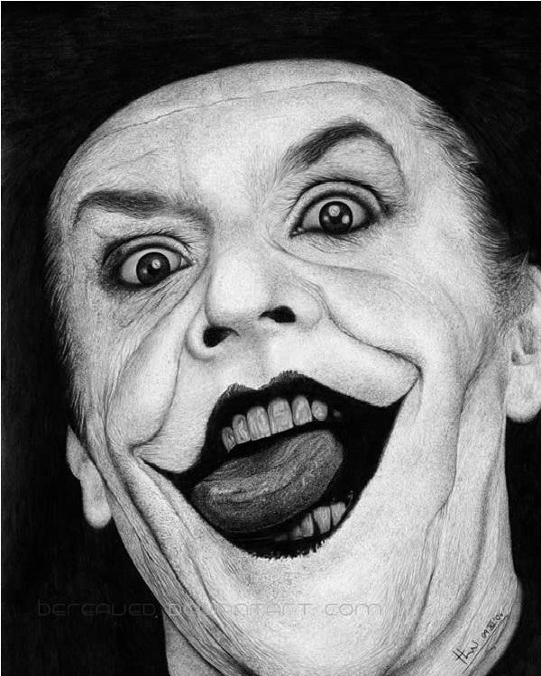 Older Joker 2-15 Best Joker Drawings That Give You Nightmares