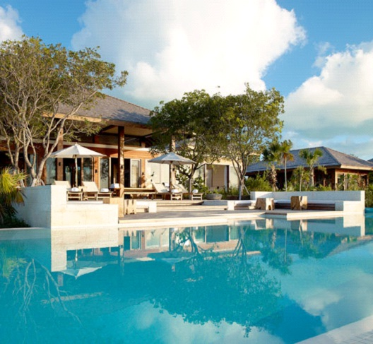 Parrot Cay Resort, Turks and Caicos - Sanctuary Villa - $20,000 per night-Most Expensive Honeymoon Destinations In The World