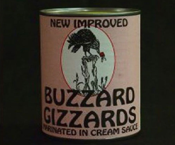 Mmm buzzard-Most Gross Food Names