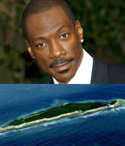 Eddie Murphy-Celebrities Who Own A Private Island