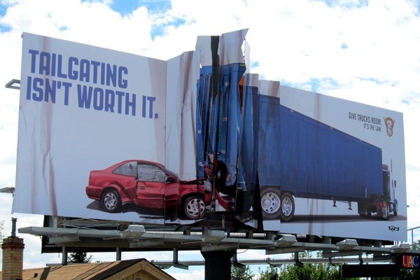 Effective-Brilliantly Clever Billboard Ads