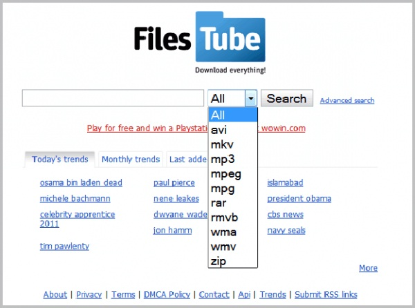 FilesTube-Best File Sharing Websites