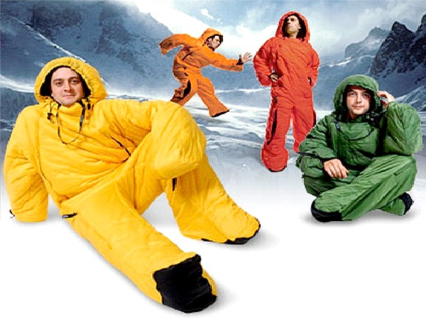 Runner-Weirdest Sleeping Bags