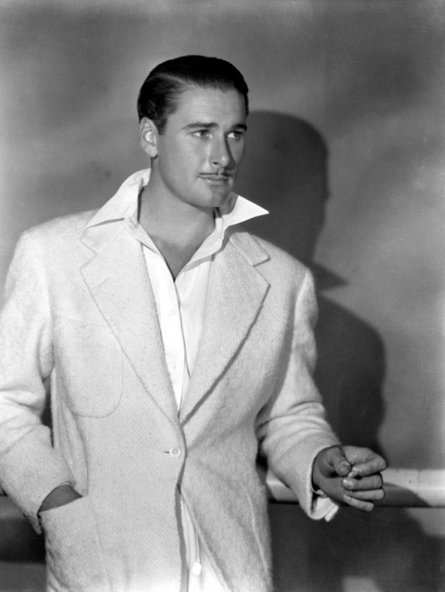 Errol Flynn-Celebrities Who Were Killed By Alcohol
