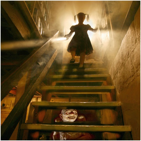 Something Lurks Underneath the Stairs-Most Disturbing Children Nightmares