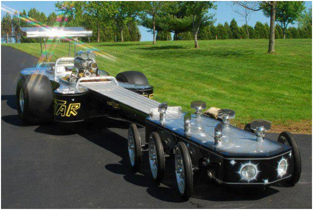 Guitarmobile-Surprising And Unusual Things Shaped Like A Guitar