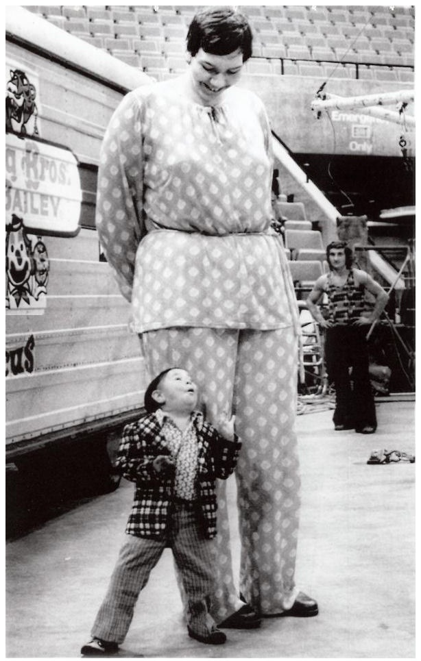 Sandy Allen-Tallest Women In The World