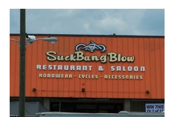 SuckBang Blow-Most Inappropriate Store Names