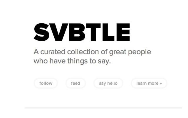 Svbtle.com-Best Sites To Start A Free Blog